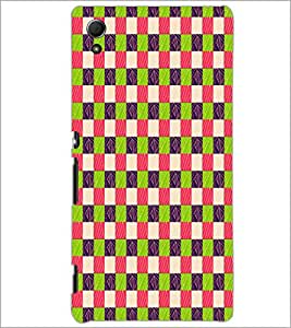 PrintDhaba Pattern D-5913 Back Case Cover for SONY XPERIA Z4 (Multi-Coloured)