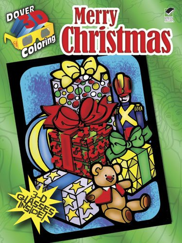 3-D Coloring Book-Merry Christmas (Dover 3-D Coloring Book)