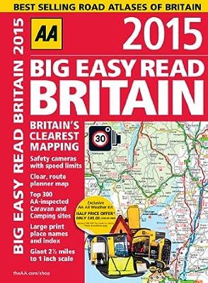 Big Easy Read Britain 2015 SP (Road Atlas)