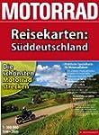 Motorrad-Reisekarte S�ddeutschland 1:...