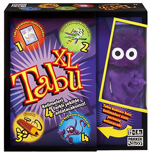 Hasbro 04199131 - Tabu XXL Spiel,