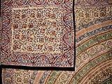 Reversible Duvet Cover-Kalamkari Block Print-Full/Queen
