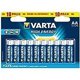 Mignon-Batterie VARTA ''HIGH ENERGY'' 1,5V, Typ AA, 10er-Blister