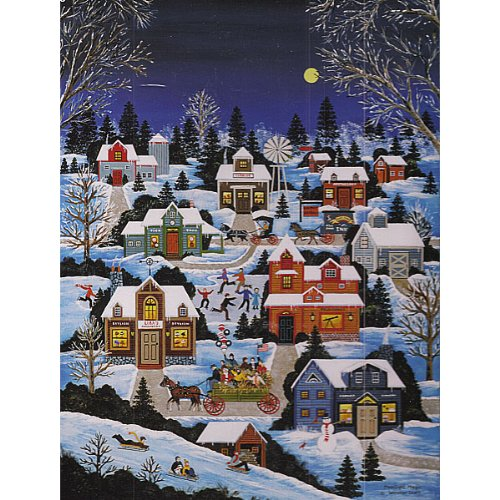 Cheap Wooster Scott Gifts Jane Wooster Scott Moonlight Magic 1000 Piece (B00553Y74C)