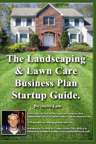 landscape company business plan startup pdf