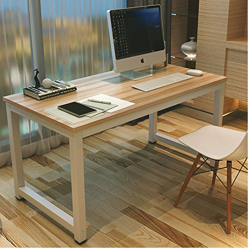 ... Simple Style Computer Desk PC Laptop Study Table Workstation for Home