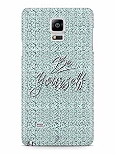YuBingo Be Yourself Designer Mobile Case Back Cover for Samsung Galaxy Note 4