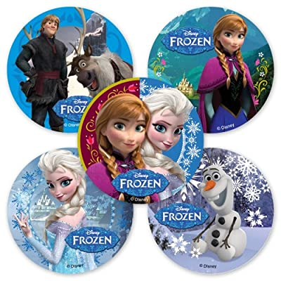 Mix and match for the best price when ordering stickers from SmileMakers! Our colorful sticker assortment is full of wintry magic straight from Disney's movie Frozen. Place your order today to receive an assortment of stickers featuring character fav...