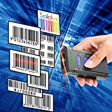 Lanno Pocket Handheld Bluetooth Wireless Barcode Scanner Bar Code Reader for Windows XP/7/8/10 PC Android Smart Phone Iphone IOS System