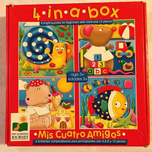 4 in a Box (Mis Cuatro Amigos) Puzzles - 1