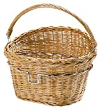 Rixen Kaul Wicker Front Basket with KF850 Klickfix