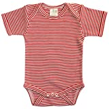 Nature Baby Organic Cotton Short-Sleeved Bodysuit
