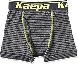(ケイパ)Kaepa 男児 ボクサーブリーフ ボーダー 前開き 926 35510 39 ダークグレー 130
