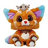 LFSLAS 32Cm Game League LOL Gnar Plush Toys Doll Official Edition 1: 1 Gnar Plush Toys Stuffed Animals for Christmas Birthday Gifts