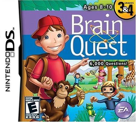 Brain Quest: Grades 3 & 4 - Nintendo DS by Electronic Arts