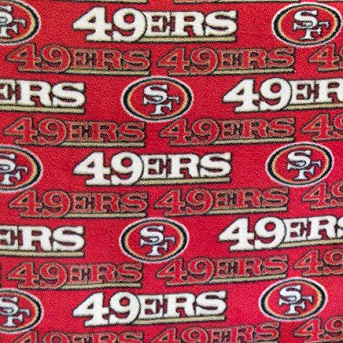 49ers Blanket Fleece front-1041652