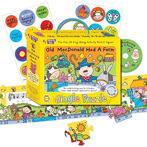 music-for-kids-puzzle-con-cd-musicale-per-bambini-in-lingua-inglese