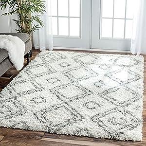 Modern Living Room Rug shaggy rug 160 x 220 cm by All Seasons
