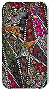Timpax Light Weight Hard Back Case Cover Printed Design : Colourful Pattern.Exclusively Design For : Samsung Galaxy J1