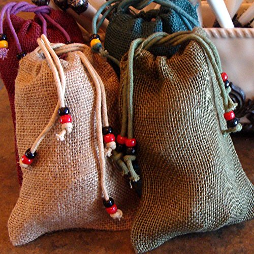 5-LB OF BINESHII WORLD FAMOUS GHOST WILD RICE PACKAGED IN 5 INDIVIDUAL BEADED BURLAP GIFT BAGS - CANOE GATHERED - HAND HARVESTED - CEDAR WOOD PARCHED - INDIVIDUAL 1-LB. PACKAGES - GLUTEN FREE - BATCHES NEVER MIXED (TO ENSURE EVEN COOKING) - ALL FROM THE FEDERALLY PROTECTED LAKES OF MINNESOTA (NO PESTICIDES) - KEEPS FOR YEARS IN A DRY AREA - EACH LB INCLUDES COOKING DIRECTIONS AND RECIPES - 100% MINNESOTA LAKE WILD RICE - BINESHII HARVESTING WILD RICE FOR NEARLY 50 YEARS. BINESHII award winning Wild Rice is famous throughout the world. Sold in exclusive retail stores such as the Quail & Olive in Ca. and endorsed by many books and magazines such as model Carol Alt's book