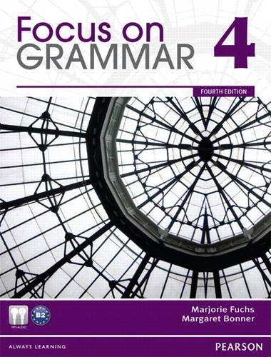 MyEnglishLab: Focus on Grammar 4 (student Access Code)