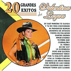canas valentina leyva from the album 20 grandes éxitos de valentina