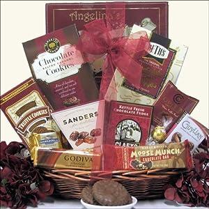 Chocolate Delights: Gourmet Chocolate Gift Basket