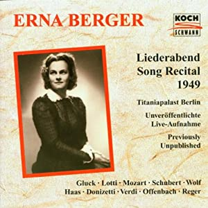 Liederabend Song Recital'49
