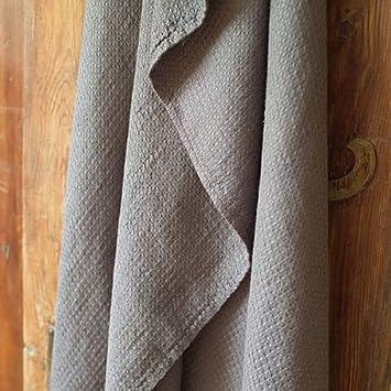 serviette de bain linenme linenme 65x130 cm en lin texture gaufr e collection. Black Bedroom Furniture Sets. Home Design Ideas