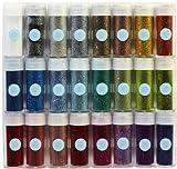 Martha Stewart Crafts Glitter Set, Rich Essentials
