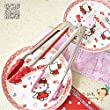 Cute Cartoon Long Tongs for Barbecue Hello Kitty Food Tongs Color Random