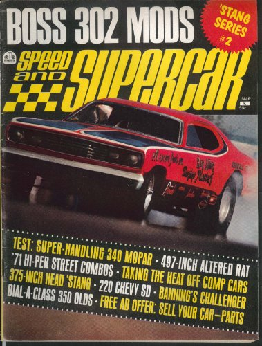 Speed & Supercar Boss 302 Mustang 220 Chevy Sd 3 1971