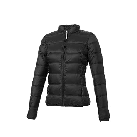 Tucano urbano 8890N3 lOW dAN women's-respirant-ultra light and water repellent down jacket can be an worn insulating couche or as a separate veste-noir-taille s