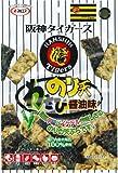 マルエス 阪神タイガースのり天わさびしょう油味 38g×5袋
