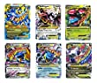 Mega Ex Cards Set of 6 Cards Platinum Card Series Charizard Blue Dragon Set
