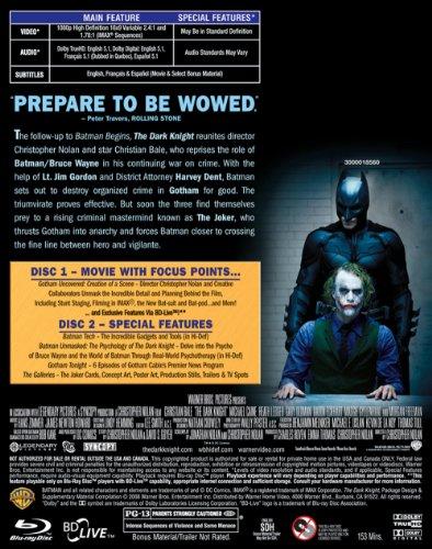 The Dark Knight (+ BD Live) [Blu-ray] at Gotham City Store