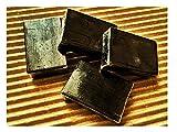 サンソリット スキンピールバー フォーサロン ミニソープ4個 正規品 (くすみ肌や毛穴の黒ずみに/角質ケア成分AHA・BHA・ハイドロキノール配合ピーリング石鹸) 15g×4個 ブラック