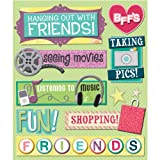 K&Company Hanging Out with Friends Sticker Medley