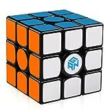 D-FantiX Gans 356 Air UM Magnetic Speed Cube 3x3 Gan 356 Air Magic Cube Puzzle Toy Black (Color: Black)