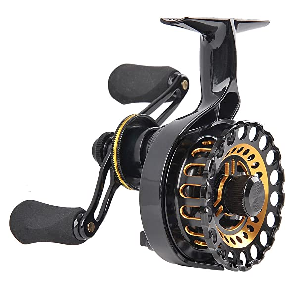Fiblink Inline Right/Left Handed Ice Fishing Reel