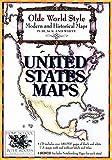 Olde World Style United States Maps on CD-ROM