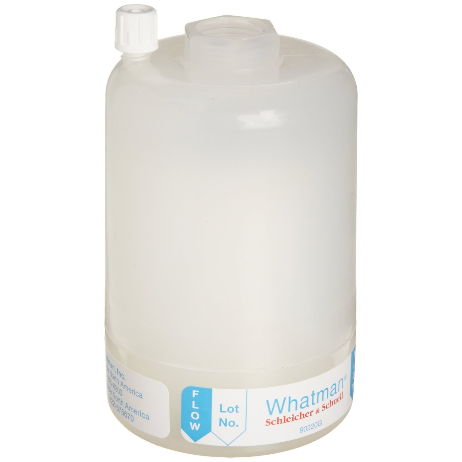 Whatman Polycap TF 150 PTFE Membrane Capsule Filter with FNPT Inlet and Outlet, 60 psi Maximum Pressure (Pack of 5)