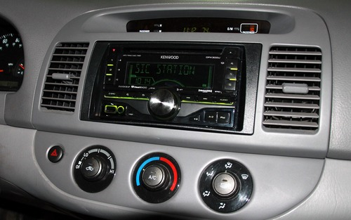 Kenwood DPX300U Double DIN In-Dash Car Stereo Receiver
