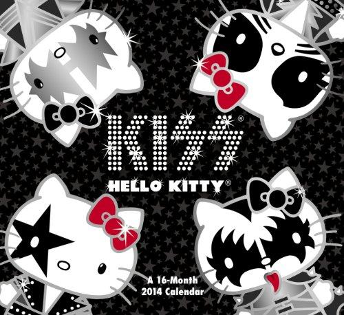 2014 Hello Kitty Kiss Wall Calendar