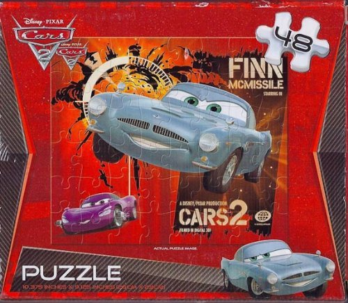 Cars 2 48 Piece Jigsaw Puzzle by Greenbrier
