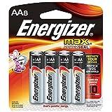 Baterias Alcalinas AA Energizer Max paquete de 8