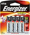 Energizer Max Alkaline AA Batteries, 8-Count Package