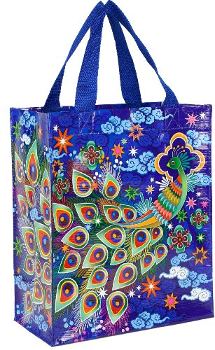 Blue Q Peacock Handy Tote - 1