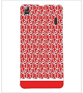PrintDhaba Typography D-1934 Back Case Cover for LENOVO A7000 PLUS (Multi-Coloured)