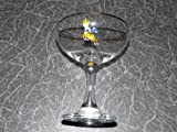 BABYCHAM GLASS. Original Babycham Glass. Logo to the foot of the glass.